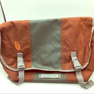 Timbuk2 Messenger Laptop Bag Gray & Orange